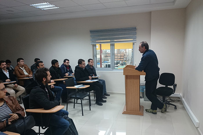 Manisa Celal Bayer Üniversitesi Makine Mühendisliği Öğrencilerinin Firmamıza Ziyareti - 25/12/2014